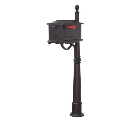 - Special Lite Products Kingston Curbside Mailbox with Ashland Mailbox Post Unit