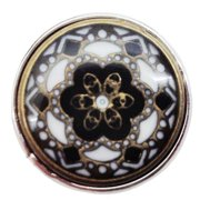 Ginger Snaps Kaleidoscope Black Snap SN05-23