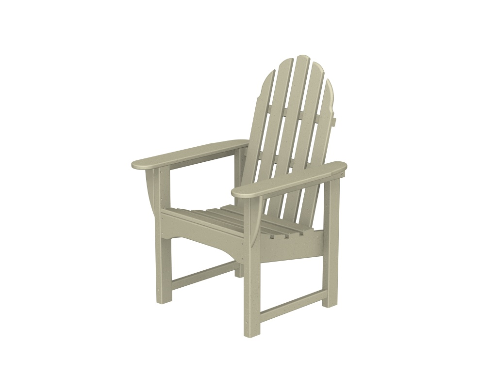 Recycled Plastic Adirondack Dining Chair by Poly-Wood Adirondack