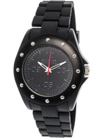 Kenneth Cole 10031713 Black Rubber Quartz Fashion Watch 931466d8a