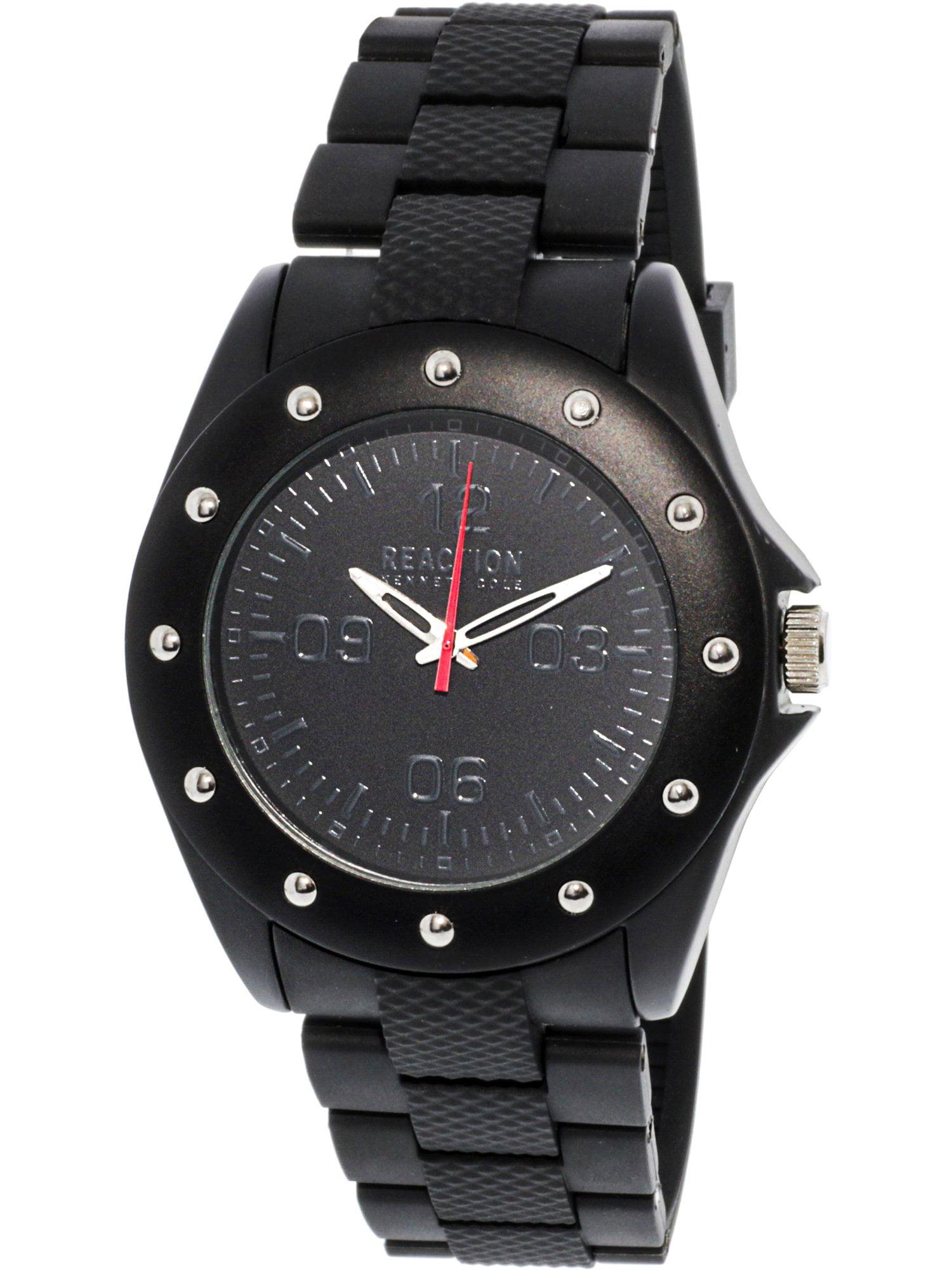 10031713 Black Rubber Quartz Fashion Watch