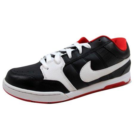 Nike Men's Air Mogan Black/White-Sport Red-Metallic Gold 311839-014