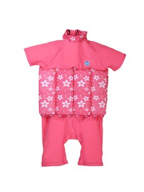 Children's UV Floatsuit Pink Blossom 2-4 Years