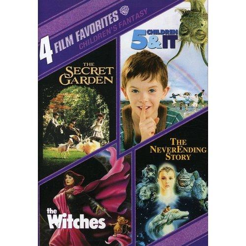 4 Film Favorites: Children's Fantasy: Neverending Story / Witches / Secret Garden / Five Children & It (Full Frame)