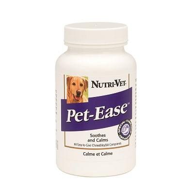 Nutri-Vet Pet-Ease 002483 Pet Ease Chewable Tablets, 60 Count