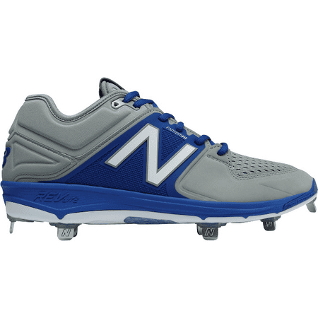 New Balance Men's L3000V3 Baseball Shoe, Navy/White, 16 D US