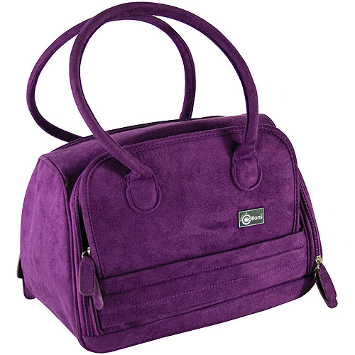 Creative Options 700-304 Total Tote Med Suede Purple