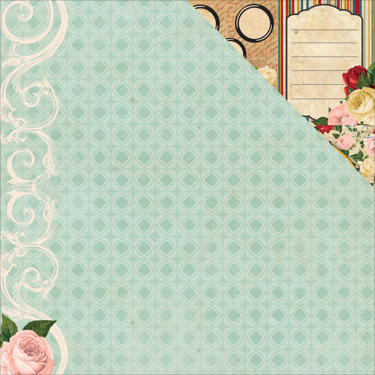 Juliet Double-Sided Cardstock 12 Inch X 12 Inch-Prose