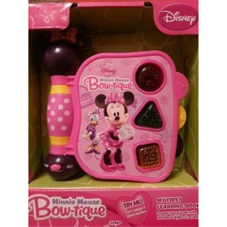 disney minnie mouse bow-tique my first learning book with lights and sounds (styles may vary)](Mice Sounds)