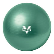 Valeo Anti-Burst 65cm Exercise Body Ball Includes High Volume 2-Way Action Air Pump And Includes Fitness Guide for Fitness, Stability, and Balance