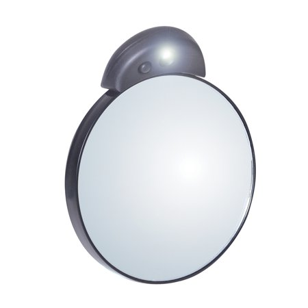 TWEEZERMAN 10x Lighted Make-Up Magnifying Mirror 6762