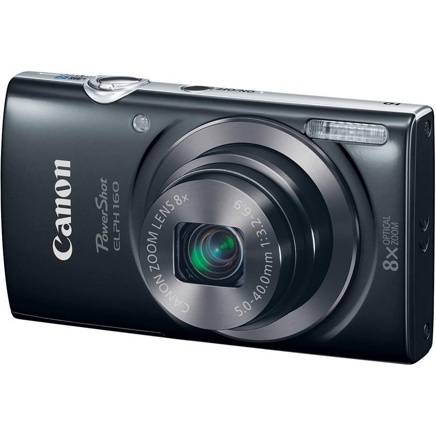 Canon Powershot ELPH 160 (Black)