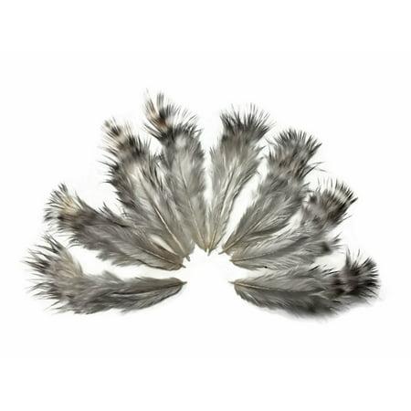 1 Dozen - Unique Grizzly Rooster Chickabou Fluff Mini - Feather Boas By The Dozen