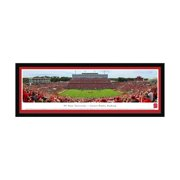 """NC State Wolfpack 16"""" x 42"""" Select Frame Team Panoramic Photo"""