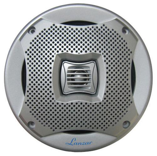 "Lanzar AQ5CXS 5.25"" 2-way Marine Speakers 400w Silver"