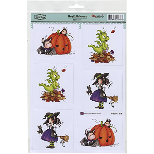 Wee Stamps Topper Sheet 8.3X12.2 -Hazels Halloween Multi-Colored