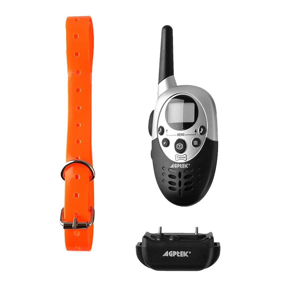 1000 Yard 8 Levels Rainproof Dog Shock Training Collar Vibration Rechargeable Remote