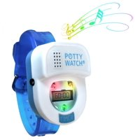 Potty Time Watch Toddler Toilet Training Aid ~ Blue