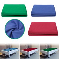 Pool Table Felt Billiard Cloth for 8 Foot Table Stretchable Wool Nylon 57.09''X120.08''(Blue,Red,Green)
