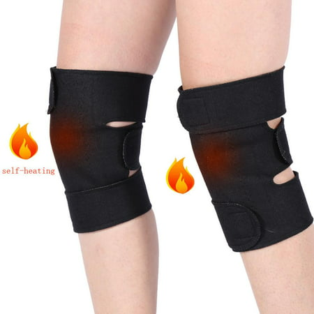 Magnetic Therapy Pad - CHICIRIS 2pcs Tourmaline Self Heating Kneepad Magnetic Therapy Knee Support Tourmaline Heating Belt Knee Massager Knee Pad Bone Care