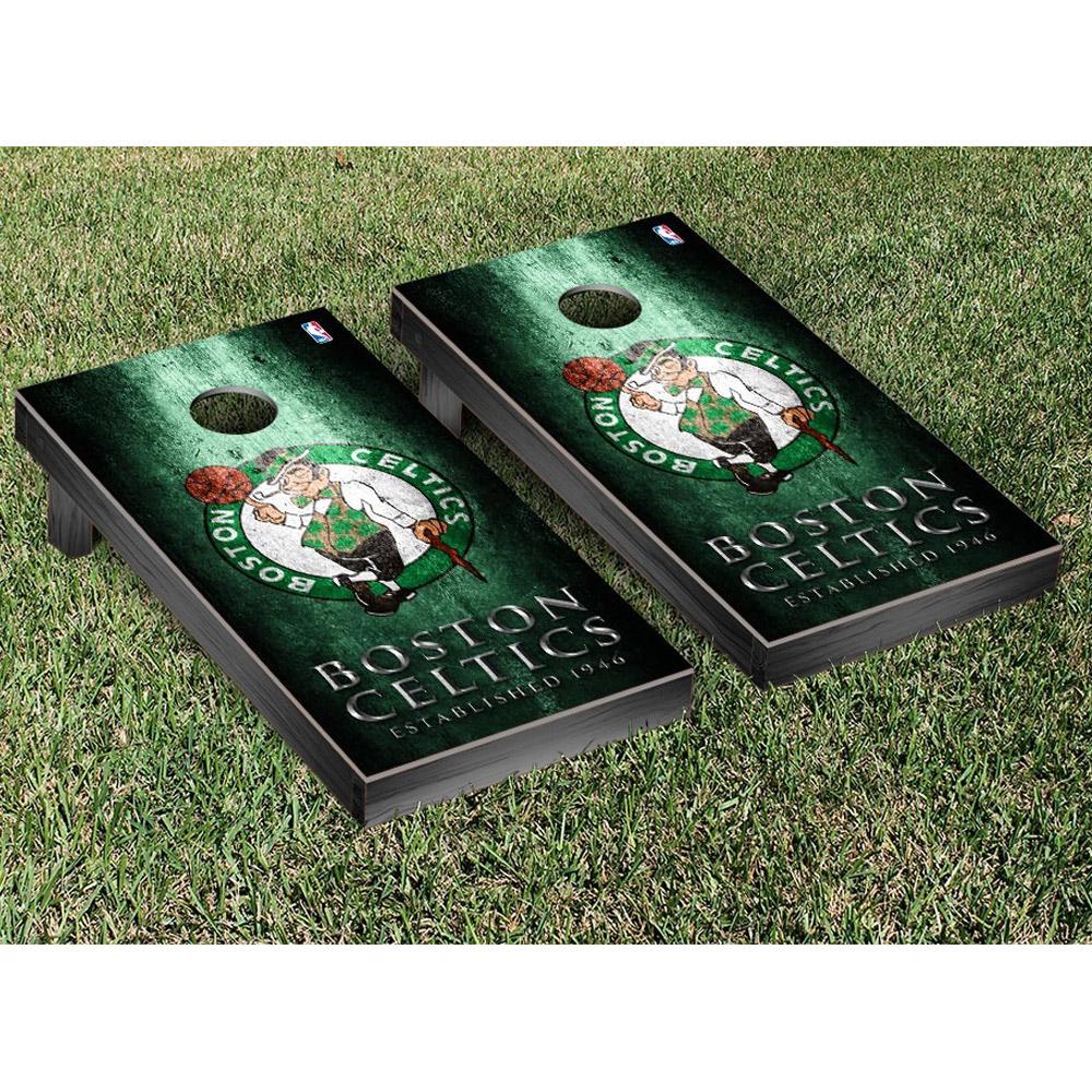 Boston Celtics Metal Design Cornhole Game Set - No Size