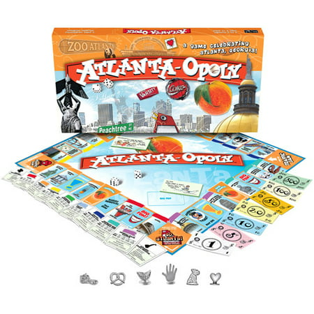 Late for the Sky Atlanta-opoly - Sky Breeze Games Halloween