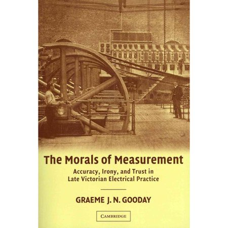 The Morals Of Measurement  Accuracy  Irony  And Trust In Late Victorian Electrical Practice