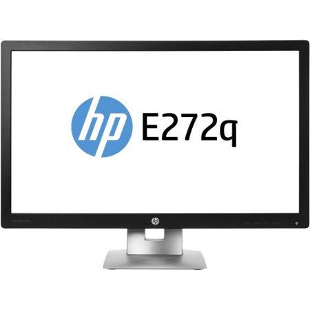 Hp Business E272q 27  Led Lcd Monitor   16 9   7 Ms   2560 X 1440   350 Nit   5 000 000 1   Wqhd   Hdmi   Vga   Displayport   Usb   55 W   Black  Silver   Epeat Silver  Energy Star   M1p04aa Aba