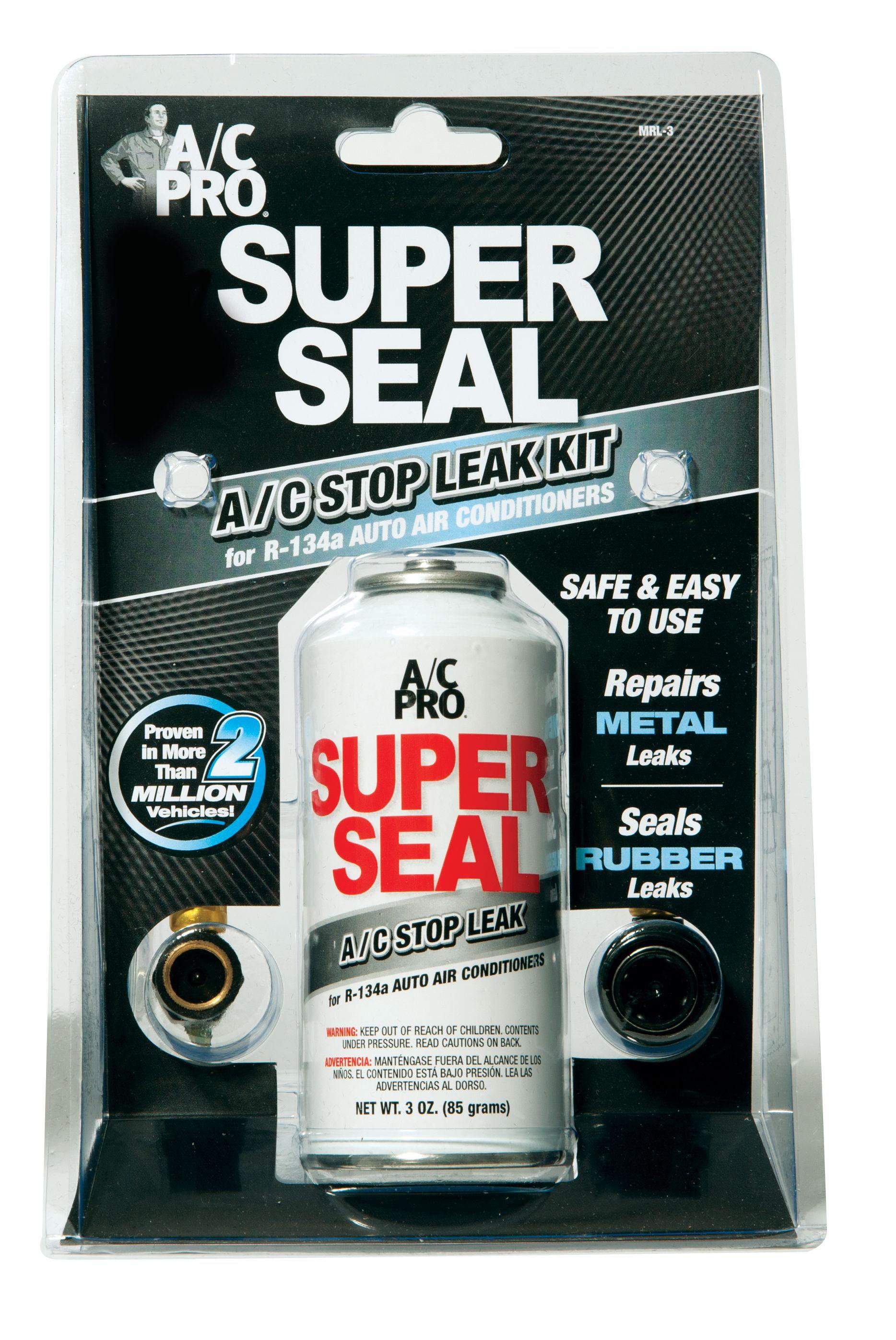 car ac leak sealer  Auto AC Metal and Rubber Leak Sealer - Walmart.com