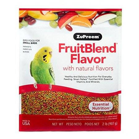 ZuPreem AvianMaintenance FruitBlend Bird Diet for Small Birds (2 lbs.)