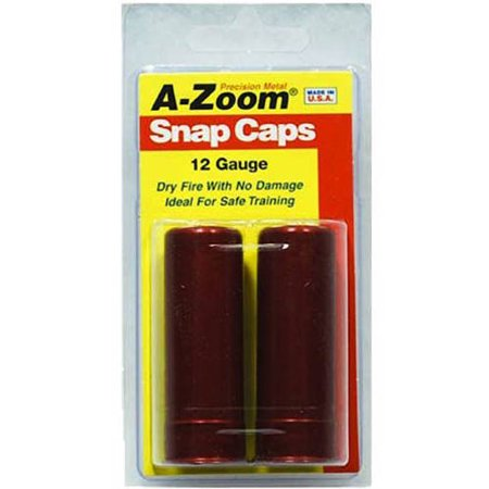 A-Zoom Snap Caps, 12 Gauge, 2pk