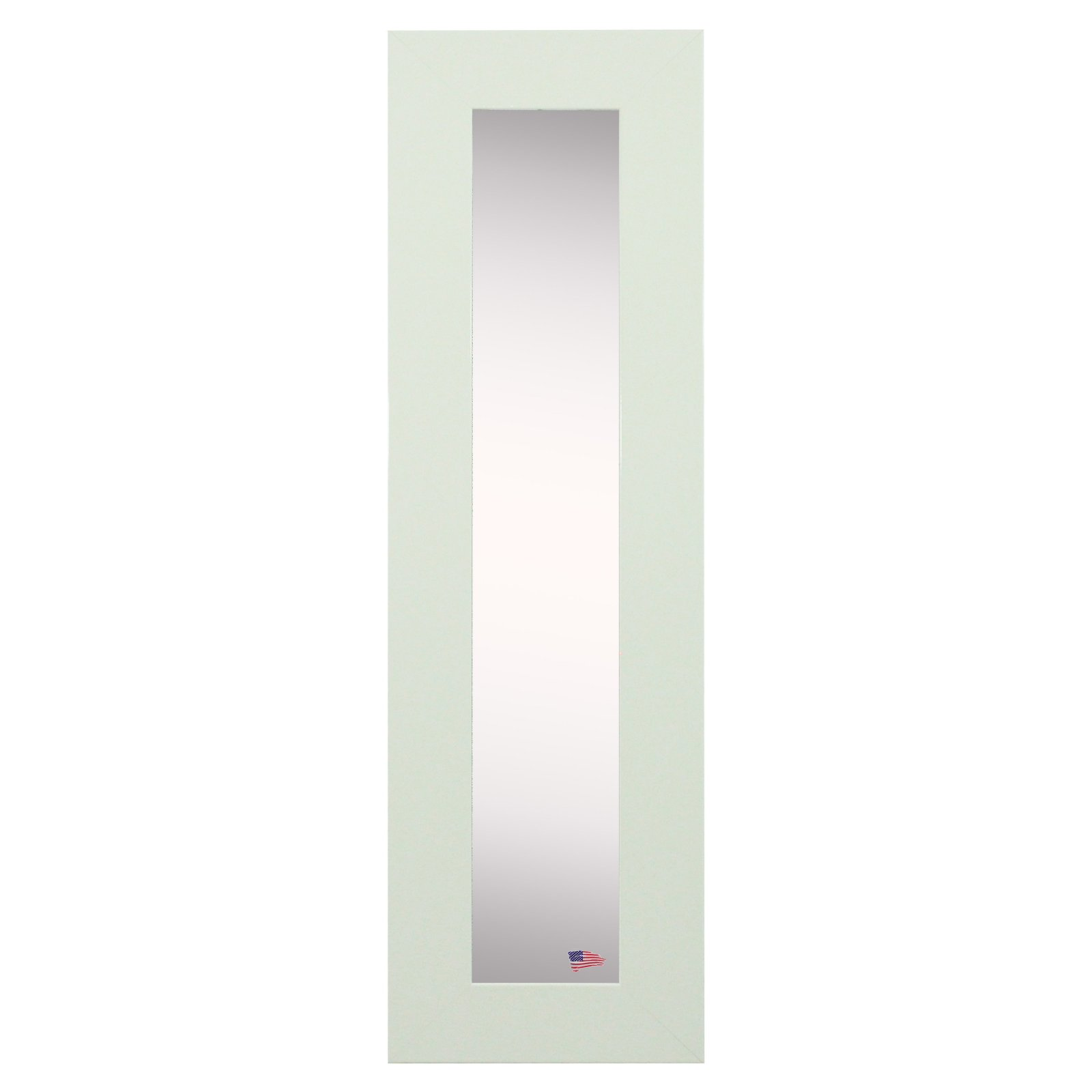 Rayne Mirrors Delta White Panel Wall Mirror Set of 2 by Overstock