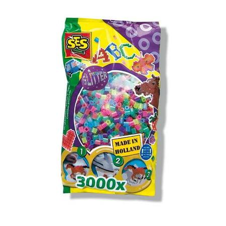 SES Creative 774 Perles de fer sur 3000 pi-ces - Ensemble de paillettes, carton de 12 - image 1 de 1
