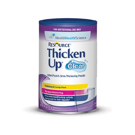 Resource Thickenup Clear Food and Beverage Thickener 4.4 oz, Case of 12 by NESTLE HEALTHCARE NUTRITION INC