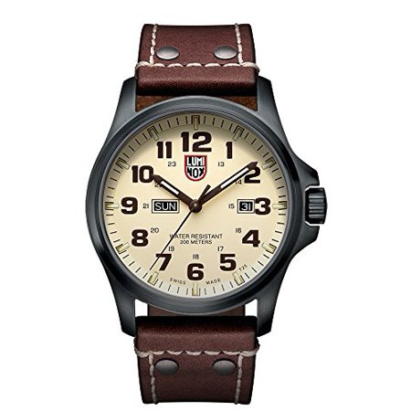 - Men's Atacama Field 1920 Series Brown Genuine Leather Beige Dial
