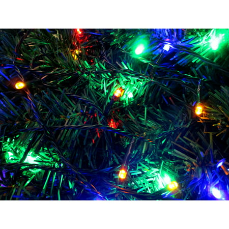Battery Operated 100 Led Multi Color Lights 16 Long