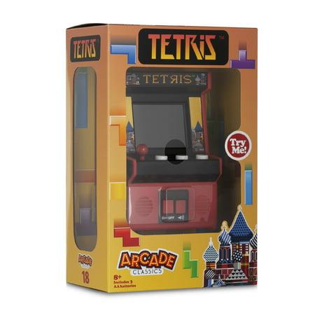 Arcade Classics - Tetris - Retro Mini Arcade Game (Walmart Exclusive)