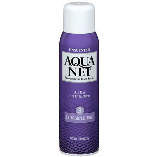 Aqua Net Unscented Extra Super Hold Hair Spray, 11 oz