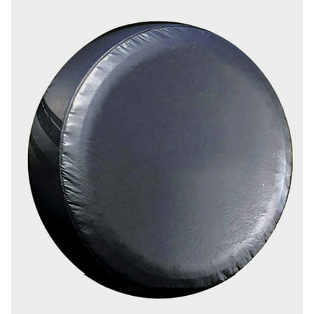 """Large Black Universal Spare Tire Cover fits 30"""" - 31"""""""