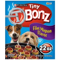 Tiny T Bonz: Filet Mignon Flavor Dog Snack, 22 Oz