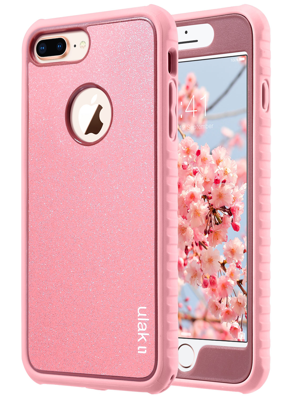 iPhone 8 Plus Case, ULAK iPhone 8 Plus Case Slim Shockproof Flexible TPU Bumper Case Durable