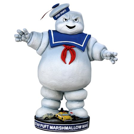 Ghostbusters Head Knocker - Stay Puft Marshmallow Man (Ghostbusters Stay Puft Marshmallow Man)