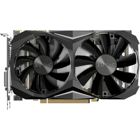 Zotac GeForce GTX 1080 Ti Graphic Card - 1.51 GHz Core - 1.62 GHz Boost Clock - 11 GB GDDR5X - Dual Slot Space Required - 352 bit Bus Width - Fan Cooler - OpenGL 4.5, DirectX 12 - 3 x DisplayPort - 1