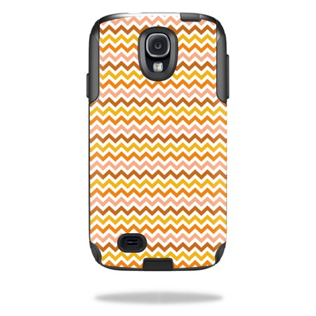 Mightyskins Protective Vinyl Skin Decal Cover for OtterBox Commuter Samsung Galaxy S4 Case wrap sticker skins Harvest Chevron