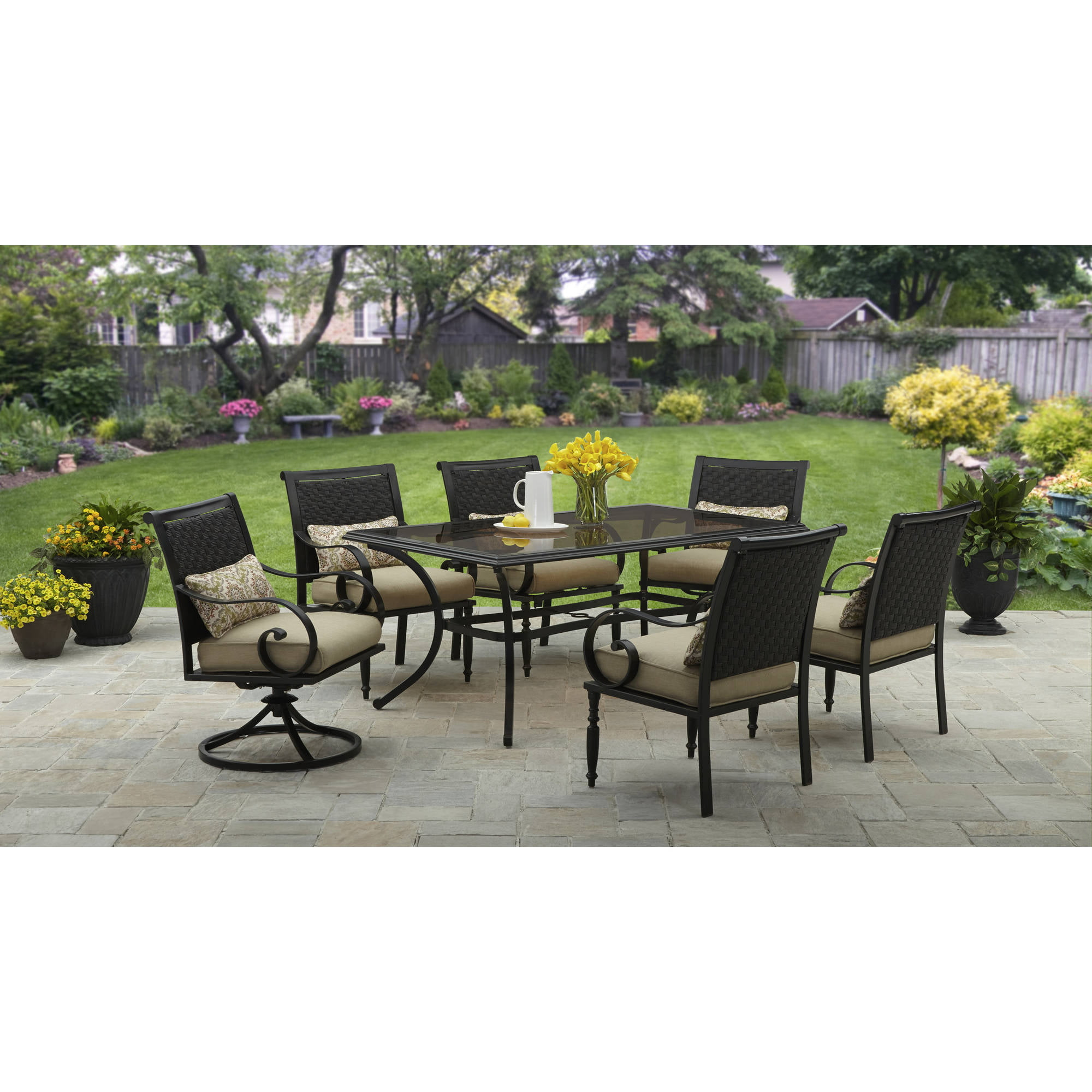 Inspirational 6 Piece Patio Dining Set