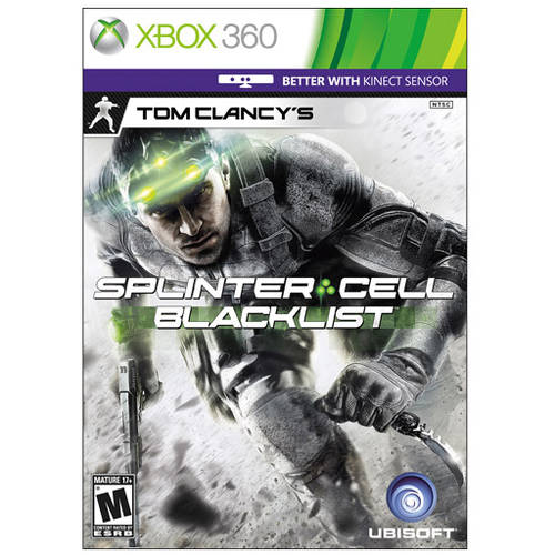 Tom Clancy'S Splinter Cell Bla (Xbox 360) - Pre-Owned
