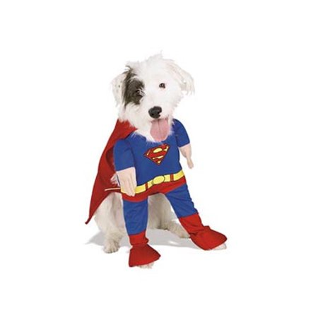 Pet Superman Costume Rubies 50570 - Superman Costume For Dogs