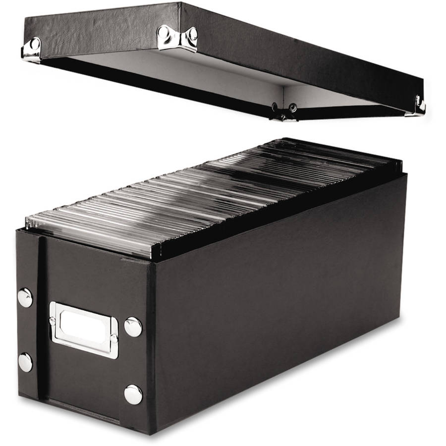 Snap-N-Store CD Storage Box, Holds 60 Slim/30 Std. Cases