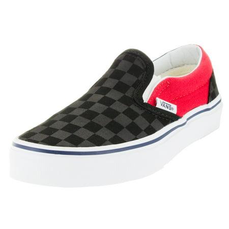 248aeeb67e7 VANS - Vans Kids Classic Slip-On (Checkerboard) Skate Shoe - Walmart.com