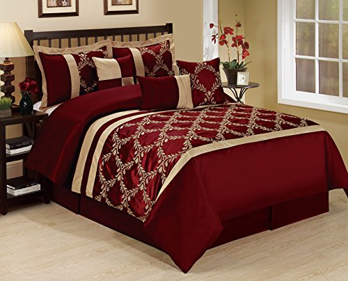 7 Piece Claremont Classic Diamond Embroiderd Clearance